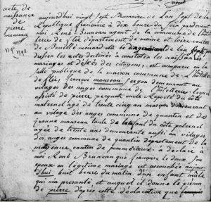 17981117_hotelleriedeflee_naissance_pierre_manseau_filsdefrancoisetfrancoiseledoux1