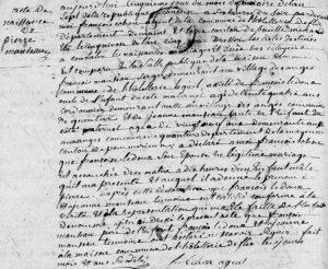 17981125_hotelleriedeflee_naissance_pierre_manseau_filsdefrancoisetfrancoiseledoux